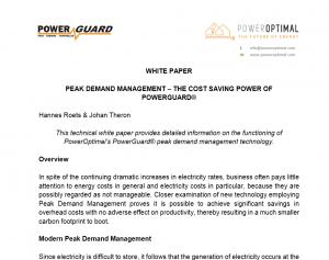 PowerGuard white paper screen capture