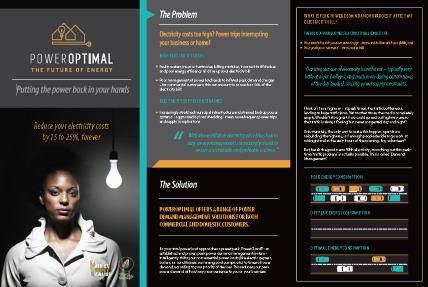 PowerOptimal web brochure screen capture