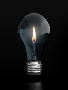 Lightbulb with candle web (359x478 px 75 dpi)